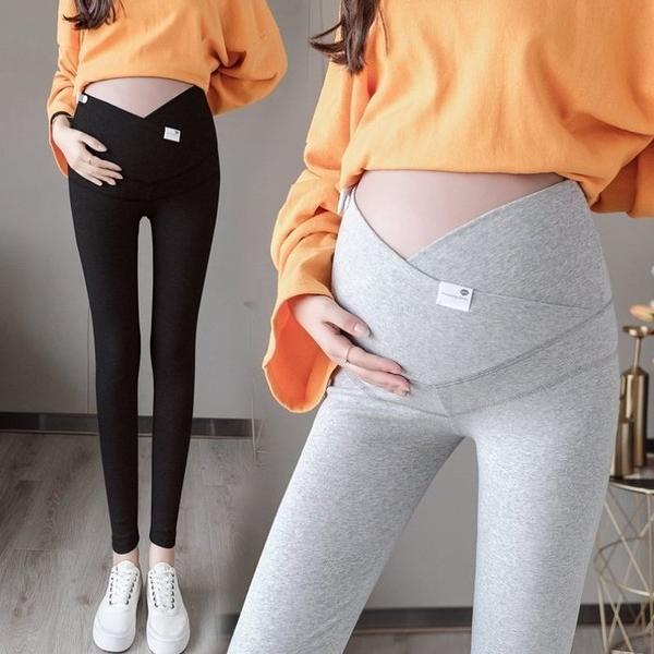 漂亮小媽咪 360度包覆型內搭褲【L8016】內搭褲 高腰 托腹內搭褲 純色 超舒適 托腹褲
