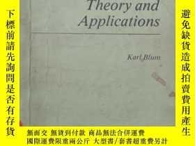 二手書博民逛書店density罕見matrix theory and appli