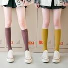 促銷 長襪子女ins潮街頭夏季薄款jk天鵝絨小腿襪夏天中筒襪白色日系黑