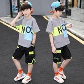 兒童衣服 兒童裝夏裝套裝2020新款中大童男孩夏季帥氣短袖兩件套韓版潮 零度3C
