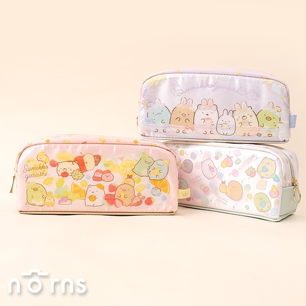 日貨PVC角落生物筆袋P2- Norns 日本SAN-X正版授權 鉛筆盒 文具收納