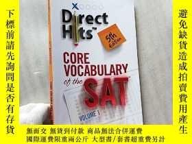 二手書博民逛書店Direct罕見Hits Core Vocabulary Of The Sat 5th Edition 1 小16