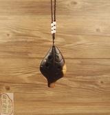 陶笛 蜀風復古熏燒6孔樹葉形小巧初學推薦 - 古梵希