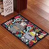 廚房地毯 卡通廚房玄關浴室防滑地墊門墊地毯臥室大門口地墊入戶進門腳墊