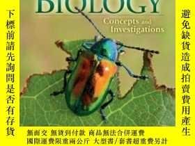 二手書博民逛書店Biology罕見Concepts And InvestigationsY307751 Mari?lle Ho