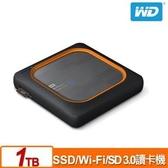 【綠蔭-免運】WD My Passport Wireless SSD 1TB 外接式Wi-Fi固態硬碟