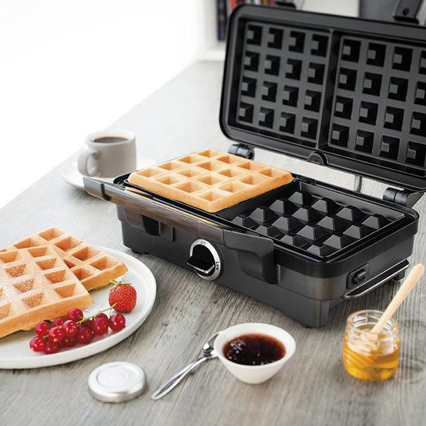 三明治機美國Cuisinart家用多功能華夫餅機鬆餅機三明治機早餐機煎餅機 小明同學NMS 220v