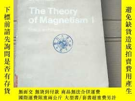 二手書博民逛書店the罕見theory of magnetism I(P1952)Y173412