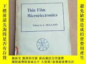 二手書博民逛書店thin罕見film microelectronics(P3314)Y173412