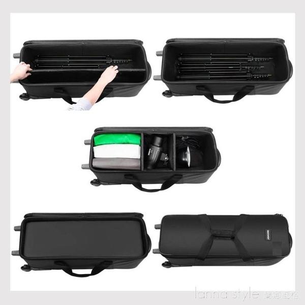 攝影器材拉桿箱 閃光燈箱包燈架包攝影箱 三腳架包 攝影器材配件 新品全館85折 YTL