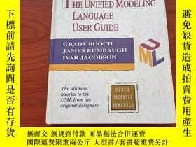 二手書博民逛書店英文原版The罕見Unified Modeling Language User Guide(精裝)Y23625