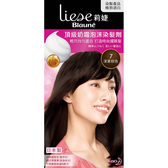 莉婕頂級奶霜泡沫染髮劑深黑棕色【康是美】