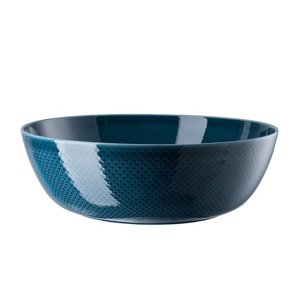 德國 Rosenthal Junto 服務大碗33cm-靛藍