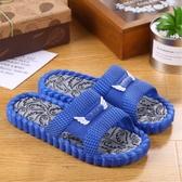 韓版家居拖鞋男夏室內防滑家用厚底一字拖男女軟底舒適情侶涼拖鞋聖誕交換禮物