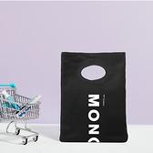 TOMBOW日本蜻蜓 MONO 經典帆布手提袋-黑色