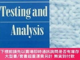 二手書博民逛書店Textile罕見Testing and Analysis-紡織品測試與分析Y414958 Billie J.