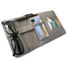 汽車CD夾遮陽板套多功能遮陽板置物袋
