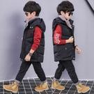 童裝男童馬甲秋冬裝2020新款兒童加厚背心韓版運動棉衣馬甲冬季潮 新年慶