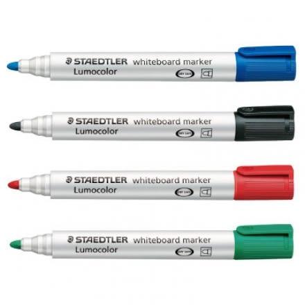 STAEDTLER 施德樓 MS351 防乾白板筆(圓頭)