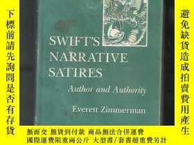二手書博民逛書店Swift s罕見Narrative Satires: Auth