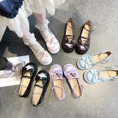 娃娃鞋 原創洛麗塔lolita復古小皮鞋女春款原宿森系百搭平底軟妹單鞋 彩希精品鞋包