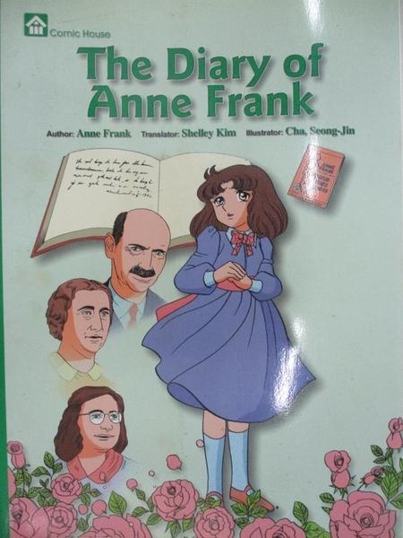 【書寶二手書T2/少年童書_I17】The Diary of Anne Frank_Anne Frank