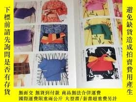 二手書博民逛書店100罕見Pattern of How To Tie OBI for Japanese Kimono book f