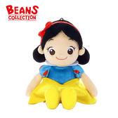 【日本正版】白雪公主 豆豆絨毛玩偶 Beans Collection 玩偶 拍照玩偶 迪士尼 - 248177