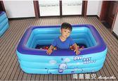 充氣泳池 兒童充氣游泳池家庭嬰兒游泳池成人家用寶寶加厚小孩超大號洗澡池 瑪麗蓮安