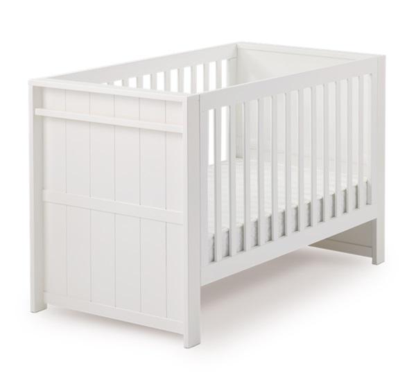 BeBe Deluxe 嬰兒大床-純淨白+彈簧墊【六甲媽咪】
