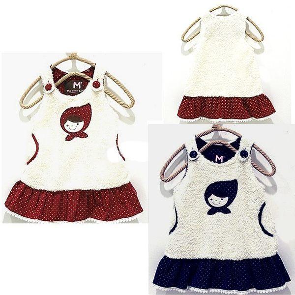可愛《可愛娃娃款》拼布點點小洋裝