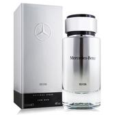 Mercedes Benz 賓士 銀輝幻羽男性淡香水(120ml) EDT-國際航空版