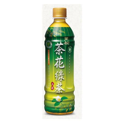《黑松》茶花綠茶-580ml x1箱(24入) 【合迷雅好物超級商城】