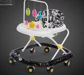 店長嚴選嬰兒童寶寶學步車多功能防側翻6/7-18個月手推可坐可折疊學助步車
