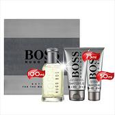 【送禮物首選】HUGO BOSS自信BOTTLED男性淡香水-100mL禮盒組 [53594]