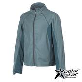 PolarStar 男 UV CUT抗風外套『淺綠灰』P17109 防曬外套休閒外套吸濕排汗外套登山健走路跑外套