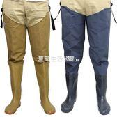 捕魚褲 加厚插秧鞋半身過膝男女下水褲 大碼超高筒防水捕魚釣魚抓魚褲ღ快速出貨