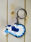 展示級鬥魚鑰匙圈 泰國原裝進口 純手工繪...