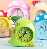 可愛創意卡通星星月亮臥室裝飾錶 蘑菇房子時尚學生兒童鬧鐘 衣櫥秘密