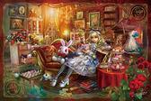 【拼圖總動員 PUZZLE STORY】愛麗絲的房間(作者:溝口周一) 日本進口拼圖/AppleOne/繪畫/300P