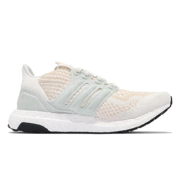 adidas 慢跑鞋 Ultraboost 6.0 DNA W 米白 藍 運動鞋 愛迪達 女鞋 【ACS】 FZ0247