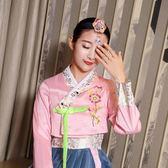 【雙11】古典繡花朝鮮民族風復古韓國傳統女士兒童韓服古裝發箍發夾發飾品免300