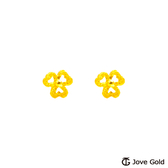 Jove gold 漾金飾 心想事成黃金耳環