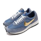 Nike 休閒鞋 DBreak SP 藍 金 男鞋 運動鞋 麂皮 【PUMP306】 BV7725-400