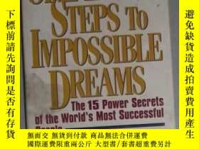 二手書博民逛書店英文原版罕見Simple Steps to Impossible