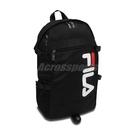 Fila 後背包 Logo Athletic Backpack 黑 白 男女款 運動休閒 【PUMP306】 BPU3006BK