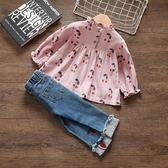 1周歲小女孩秋裝嬰兒童衣服0女童裝2春秋公主女寶寶3歲韓版潮套裝【卡米優品】
