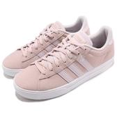 adidas 休閒鞋 Daily 2.0 紫 白 麂皮 基本款 韓系 日系 女鞋 運動鞋【PUMP306】 B42092