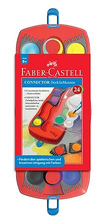 Faber-Castell連結創意水彩餅24色 *125029