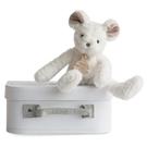 GMPBABY 法國娃娃Doudou條紋白熊小布偶 (24cm)